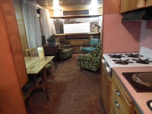 inside mobile home